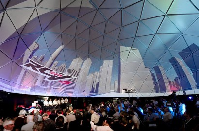 Immersive projections, 360 dome projection