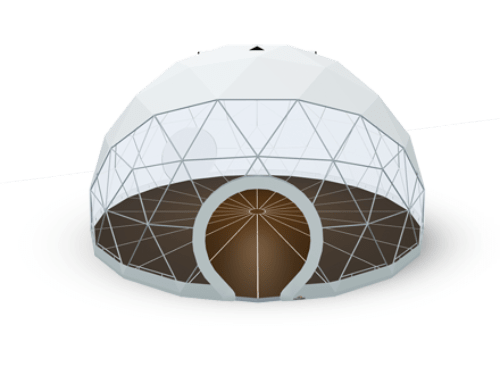 Geodesic dome tent - polidome p30