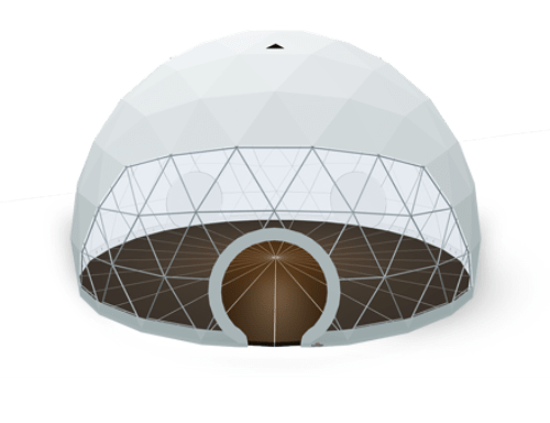 Geodesic dome tent - polidome p150