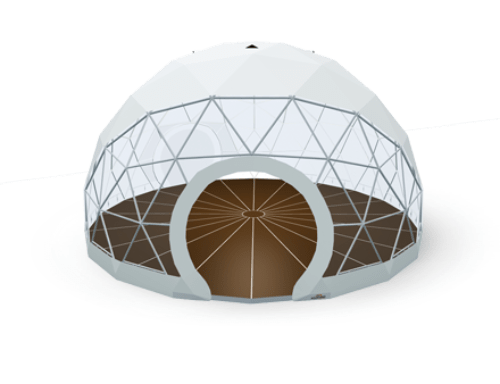 Geodesic dome tent - polidome p50
