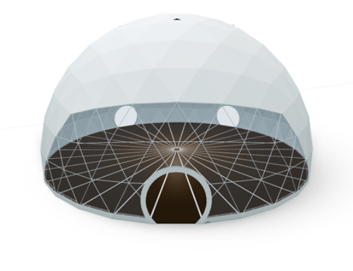 Geodesic dome tent - polidome p500