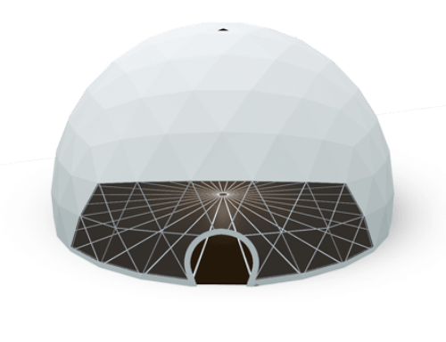 Geodesic dome tent - polidome p700