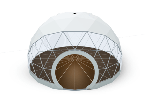 Geodesic dome tent - polidome p75
